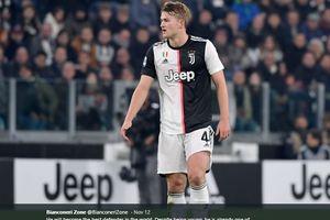 Balas Komentar Kluivert, De Ligt: Saya Tak Menyesal Pindah ke Juventus