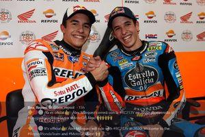 Diwarnai Insiden Crash, Mimpi Adik Marc Marquez Tunggangi Motor Honda Jadi Kenyataan