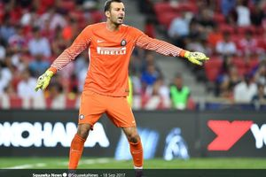 Inter Milan Vs Bayer Leverkusen - Misi Handanovic Jaga Clean Sheets