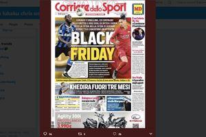 Surat Kabar Italia Rilis Pembelaan Terkait Headline 'Black Friday'