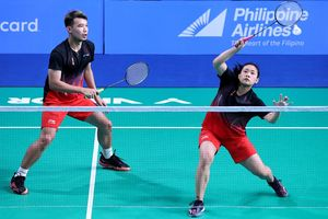 SEA Games 2019 - Rinov/Mentari Siap Pupus Harapan Wakil Thailand demi Tiket Semifinal