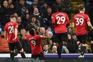 3 Fakta Kemenangan Manchester United - Peran Vital Anthony Martial hingga Catatan Buruk Pep Guardiola