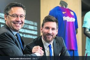 Tidak Melepas Lionel Messi Dinilai Sebagai Kesalahan Terbesar Bartomeu