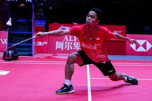 Hasil BWF World Tour Finals 2019 - Tumbangkan Chen Long, Anthony Sukses Ukir Kemenangan Perdana