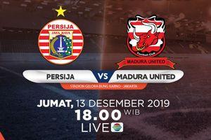 Link Live Streaming Persija Jakarta Vs Madura United, Pertandingan Liga 1 2019 Pekan Ke-32