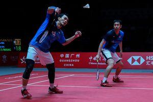BWF World Tour Finals 2019 - Ahsan Sempat Rasakan Nyeri di Lengan