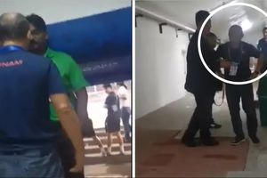 Detik-detik Pelatih Vietnam Ribut dengan Panpel saat Hadapi Timnas Indonesia