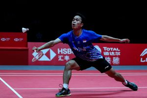 Live Streaming BWF World Tour Finals 2019 - Peluang Anthony Ginting Rebut Gelar dari Momota