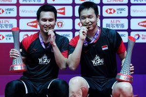 Ahsan/Hendra Tak Menyangka Bisa Juara BWF World Tour Finals 2019