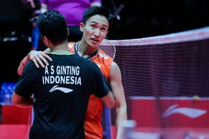 BWF World Tour Finals 2019 - Anthony Ginting Akui Tak Mudah Kalahkan Momota