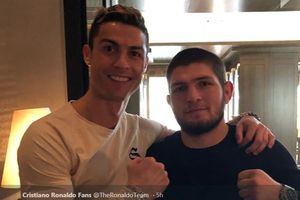 Belum Pikirkan Pensiun, Cristiano Ronaldo Diberi Saran oleh Khabib