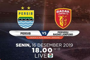 Link Live Streaming Persib Vs Perseru Badak Lampung FC