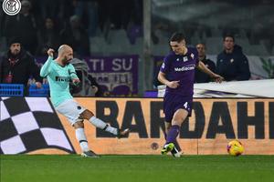 Babak I Liga Italia - Gol Borja Valero ke Gawang Mantan Bawa Inter Unggul Sementara