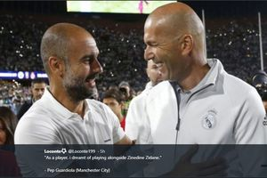Real Madrid Vs Man City - Zidane Minta Suporter Tak Fokus ke Pelatih