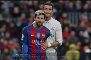 Leo Messi dan Ronaldo Kirim Salam Duka untuk Kobe Bryant