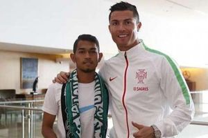 Di Mana Cristiano Ronaldo saat Martunis Melangsungkan Pernikahan?