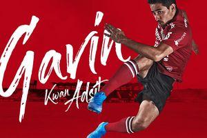 Gavin Kwan Adsit Terkesan dengan Jersey Anyar Bali United Musim Ini