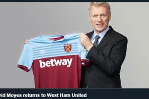 David Moyes dan Dua Pemain West Ham United Dinyatakan Positif Covid-19