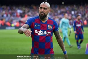 Barcelona Tak Berkutik di Hadapan Bayern Muenchen, Ucapan Arturo Vidal Akhirnya Berujung Kualat