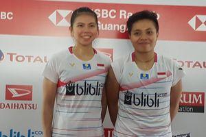 Indonesia Masters 2020 - Greysia/Apriyani Bertarung Sampai Kaki Panas