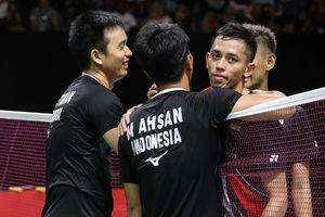 Indonesia Masters 2020 - Wejangan Ahsan/Hendra untuk Fajar/Rian usai Menangi Derbi Merah Putih