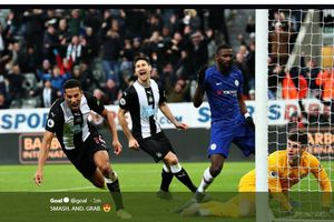 Hasil Liga Inggris - Newcastle Bikin Sakit Hati Chelsea akibat Gol Menit 94