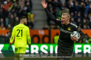 Hasil Lengkap dan Klasemen Bundesliga, Erling Haaland Cetak 40 Gol, Dortmund Menang