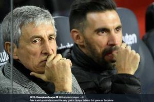Baru Pimpin 3 Laga Barcelona, Quique Setien Dikritik Habis-habisan