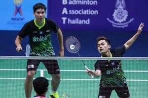 Hasil Thailand Masters 2020 - Menangi Derbi Indonesia, Leo/Daniel Susul Fikri/Bagas ke Babak Kedua