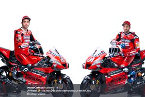 Pamerkan Livery Baru untuk MotoGP 2020, Ducati: Kami Tidak Akan Puas Sebelum Jadi Juara Dunia