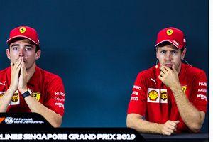 Charles Leclerc Sebut Sebastian Vettel Takkan Terpengaruh Isu Kontrak