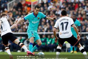 Barcelona Kalah karena Pemain Gagal Pahami Instruksi Pelatih