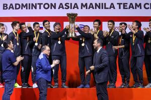 Malaysia Gagal Cetak Sejarah Gara-gara Tim Putra Indonesia Juara di Kejuaraan Beregu Asia 2020