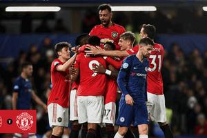 Hasil Liga Inggris - Permalukan Chelsea, Manchester United Naik 2 Posisi