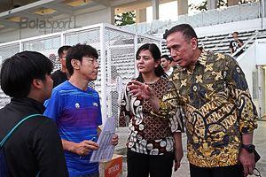 Kata Shin Tae-yong Usai Timnas Indonesia Kalah 1-4 dari Tim Promosi
