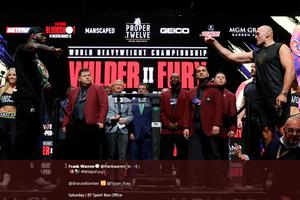 Jadwal Tinju Dunia - Pertaruhan Terakhir Rekor Deontay Wilder dan Tyson Fury