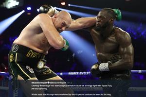Konyol! Deontay Wilder Utarakan Alasan Tak Masuk Akal Ketika Dibantai Tyson Fury