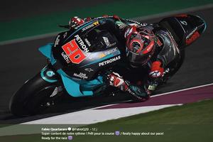Fabio Quartararo Sebut Marc Marquez Diuntungkan Penundaan MotoGP
