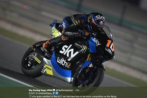 Hasil Moto2 Catalunya 2020 - Adik Rossi Menang Lewat Pertarungan Sengit, Pebalap Indonesia Finish Ke-19