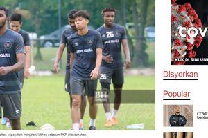 Pemain dari Mantan Klub Saddil Ramdani di Liga Malaysia Ogah Dipotong Gajinya karena COVID-19