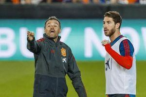 Luis Enrique Terkejut dengan Kualitas Sergio Ramos