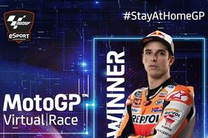 Kata Alex Marquez Usai Raih Kemenangan Perdana di MotoGP Virtual Race