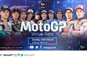 Valentino Rossi Absen, Marc Marquez Siap Tampil Ganas pada MotoGP Virtual Race