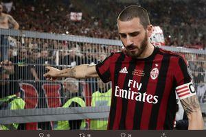 DUEL KLASIK, 31 Maret 2018 - Pengkhianatan Leonardo Bonucci Tak Cukup buat AC Milan