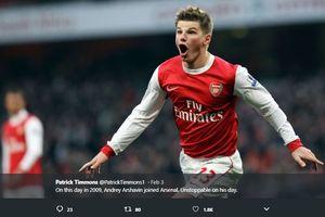 Bukan Henry atau Van Persie, Arshavin Puji Performa Eks Kapten Arsenal