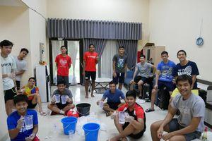 Atlet Bulu Tangkis Indonesia Siapkan 500 Hand Sanitizer dan Masker untuk Warga