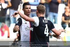 Mantan Bek Juventus Ungkap Kelakuan Aneh Cristiano Ronaldo Usai Lawan Atalanta
