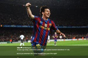 Tak Disangka, Satu Sosok Ini Ternyata Pernah Bikin Minder Lionel Messi