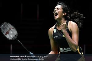 PV Sindhu Akui Banyak yang Ragukan Dia Bisa Raih Gelar Juara Dunia