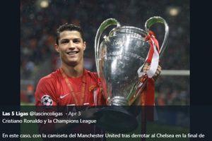 Lewat Instagram, Cristiano Ronaldo Kangen Angkat Trofi Liga Champions